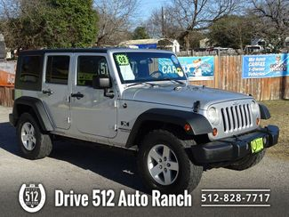 2008 Jeep Wrangler Unlimited X in Austin, TX 78745
