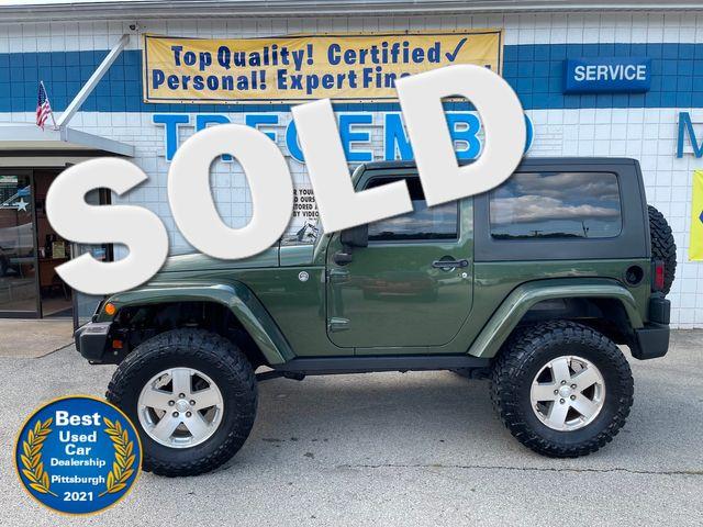 2008 Jeep Wrangler X in Bentleyville, Pennsylvania 15314