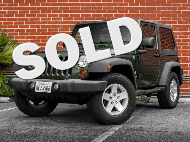 2008 Jeep Wrangler X Burbank, CA
