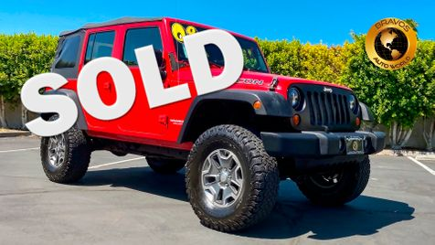 2008 Jeep Wrangler Unlimited Rubicon in cathedral city