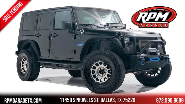 2008 Jeep Wrangler Unlimited Sahara Supercharged with Many Upgrades