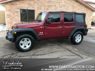 2008 Jeep Wrangler Unlimited X Farmington, MN