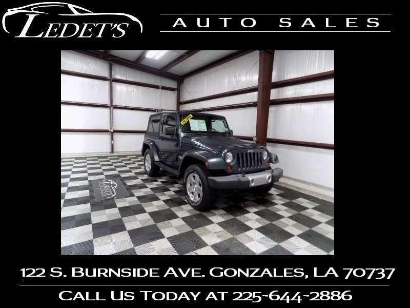2008 Jeep Wrangler Sahara - Ledet's Auto Sales Gonzales_state_zip in Gonzales Louisiana