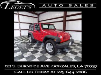 2008 Jeep Wrangler in Gonzales Louisiana