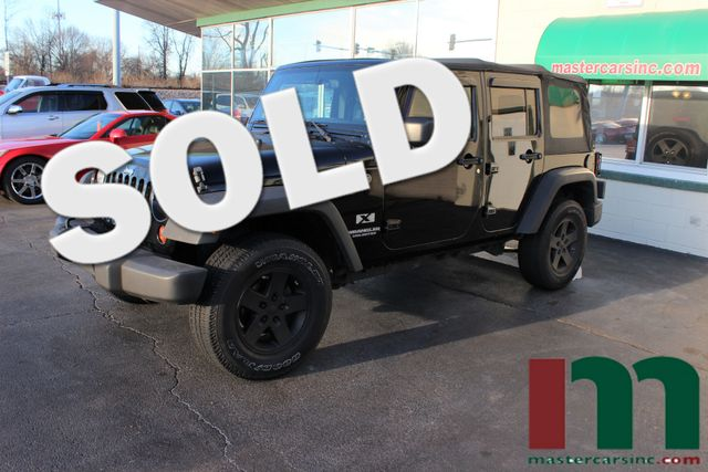 2008 Jeep Wrangler Unlimited X | Granite City, Illinois | MasterCars Company Inc. in Granite City Illinois