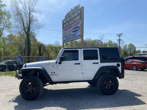 2008 Jeep Wrangler Unlimited X in Harwood, MD