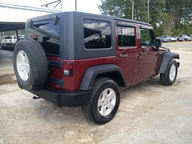 2008 Jeep Wrangler Unlimited X Houston, Mississippi 4