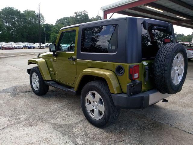 2008 Jeep Wrangler Sahara Houston, Mississippi 4