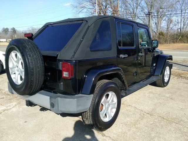 2008 Jeep Wrangler Unlimited Sahara Houston, Mississippi 5
