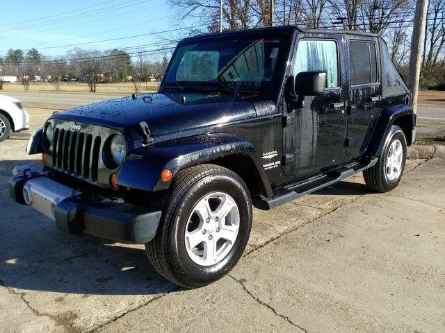 2008 Jeep Wrangler Unlimited Sahara Houston, Mississippi 1