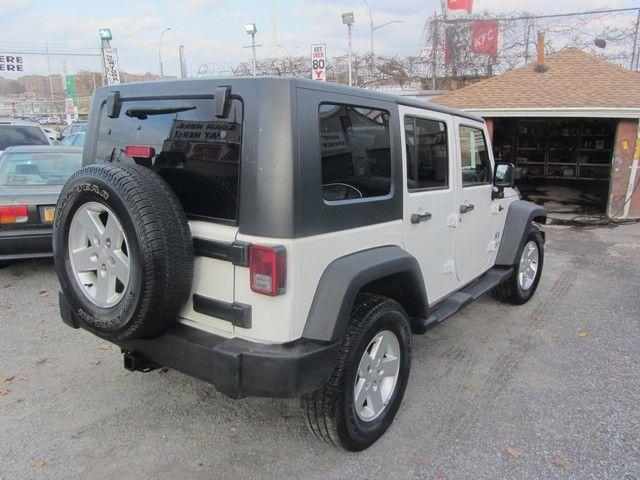 2008 Jeep Wrangler Unlimited X Jamaica, New York 10