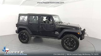 2008 Jeep Wrangler Unlimited X LIFTED W/CUSTOM TIRES AND WHEELS in McKinney Texas, 75070