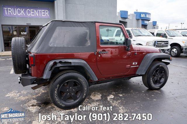 2008 Jeep Wrangler X in Memphis, Tennessee 38115