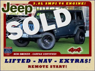 2008 Jeep Wrangler Unlimited Sahara 4x4- LIFTED - EXTRA$ - NAVIGATION Mooresville , NC