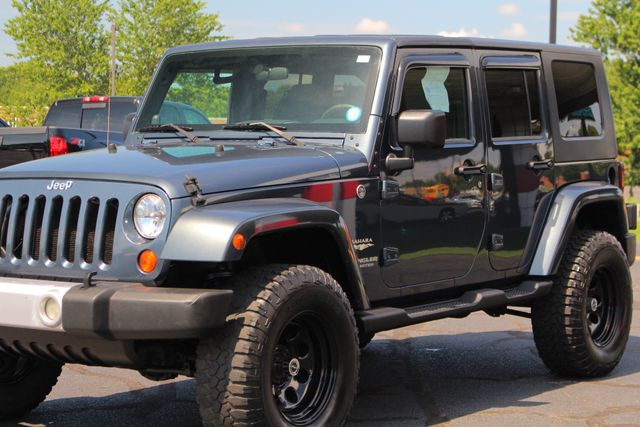 2008 Jeep Wrangler Unlimited Sahara 4x4- LIFTED - EXTRA$ - NAVIGATION Mooresville , NC 26