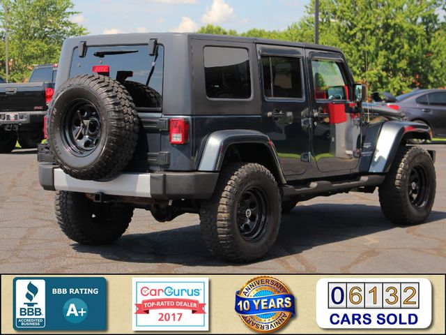 2008 Jeep Wrangler Unlimited Sahara 4x4- LIFTED - EXTRA$ - NAVIGATION Mooresville , NC 2