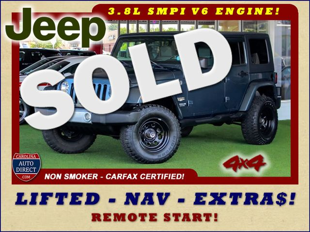 2008 Jeep Wrangler Unlimited Sahara 4x4- LIFTED - EXTRA$ - NAVIGATION Mooresville , NC 0