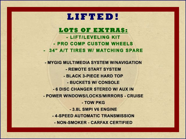 2008 Jeep Wrangler Unlimited Sahara 4x4- LIFTED - EXTRA$ - NAVIGATION Mooresville , NC 1