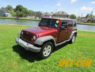 2008 Jeep Wrangler Unlimited Sahara in New Orleans, Louisiana 70119