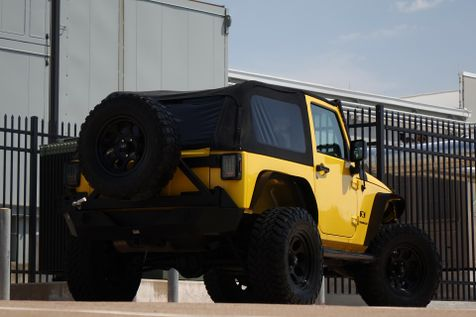 2008 Jeep Wrangler X* Lifted* Big Tires* Manual* EZ Finance** | Plano, TX | Carrick's Autos in Plano, TX