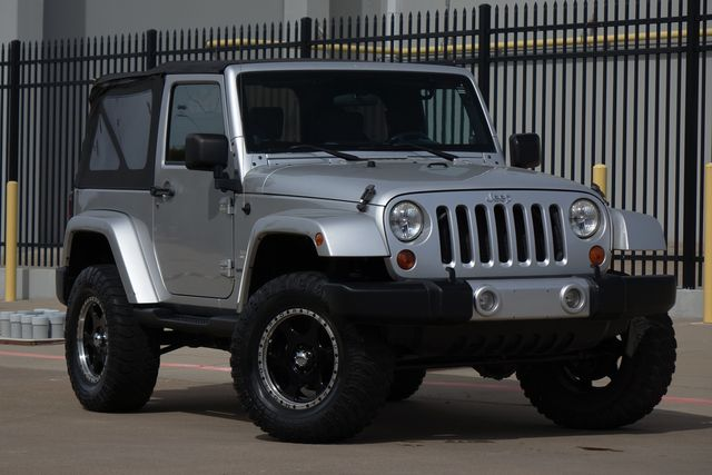 2008 Jeep Wrangler Sahara* Manual* Soft Top* Nav* 4x4* EZ Finance** | Plano, TX | Carrick's Autos in Plano TX