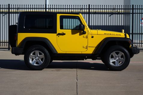 2008 Jeep Wrangler Rubicon* Manual* Hard Top* 4x4* EZ Financing* | Plano, TX | Carrick's Autos in Plano, TX
