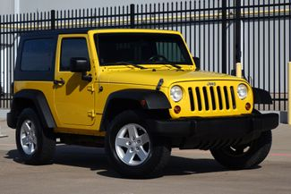 2008 Jeep Wrangler X* Manual* Hard Top* 4x4* EZ Finance** | Plano, TX | Carrick's Autos in Plano TX