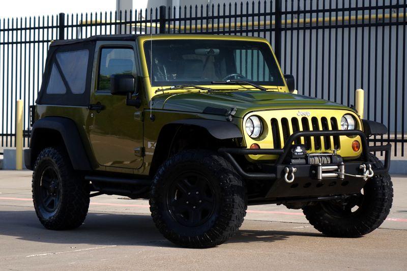 2008 Jeep Wrangler X*Manual*4x4*Only 112k mi* EZ Finance** | Plano, TX | Carrick's Autos in Plano TX