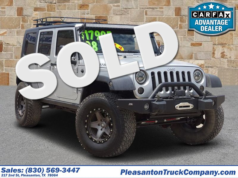2008 Jeep Wrangler Unlimited Rubicon   Pleasanton, TX   Pleasanton Truck Company in Pleasanton TX