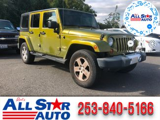 2008 Jeep Wrangler Unlimited Sahara in Puyallup Washington, 98371
