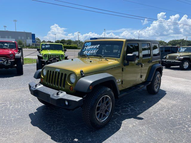 2008 Jeep Wrangler Unlimited X 1-Owner