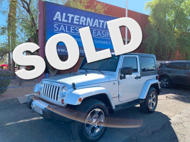 2008 Jeep Wrangler Sahara 3 MONTH/3,000 MILE NATIONAL POWERTRAIN WARRANTY Mesa, Arizona