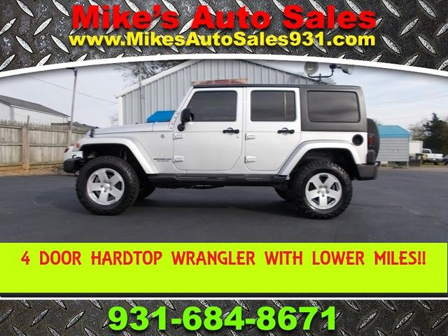 2008 Jeep Wrangler Unlimited Sahara Shelbyville, TN 0