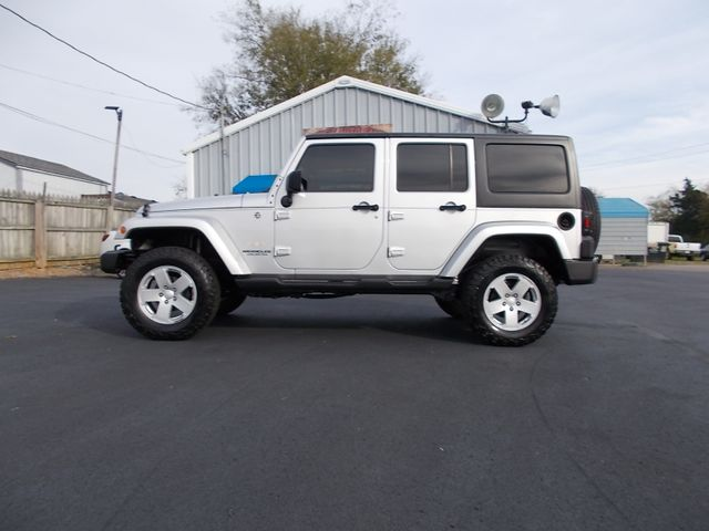 2008 Jeep Wrangler Unlimited Sahara Shelbyville, TN 1