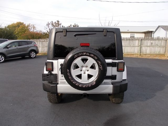 2008 Jeep Wrangler Unlimited Sahara Shelbyville, TN 13