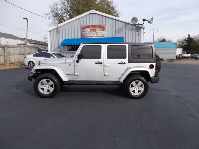 2008 Jeep Wrangler Unlimited Sahara Shelbyville, TN 2