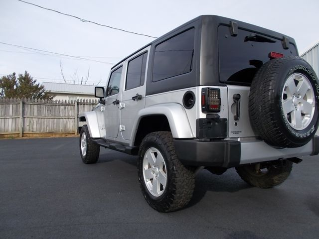 2008 Jeep Wrangler Unlimited Sahara Shelbyville, TN 3