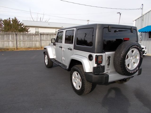 2008 Jeep Wrangler Unlimited Sahara Shelbyville, TN 4