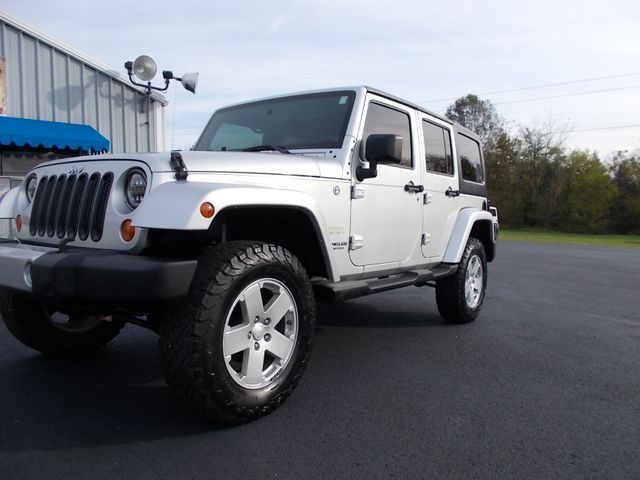 2008 Jeep Wrangler Unlimited Sahara Shelbyville, TN 5