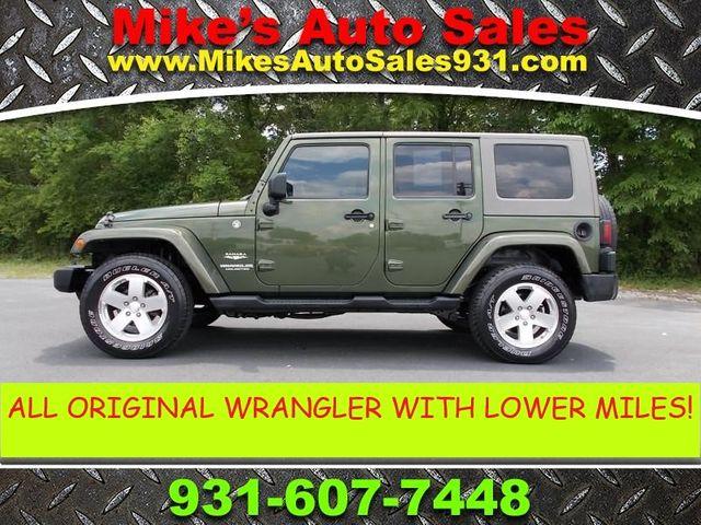 2008 Jeep Wrangler Unlimited Sahara Shelbyville, TN