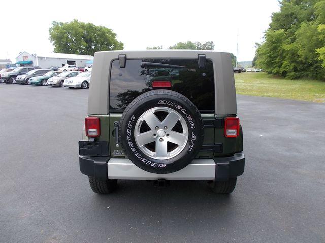 2008 Jeep Wrangler Unlimited Sahara Shelbyville, TN 13