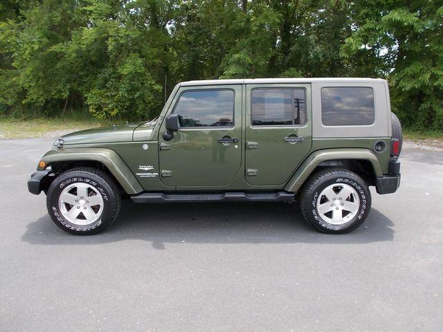 2008 Jeep Wrangler Unlimited Sahara Shelbyville, TN 2
