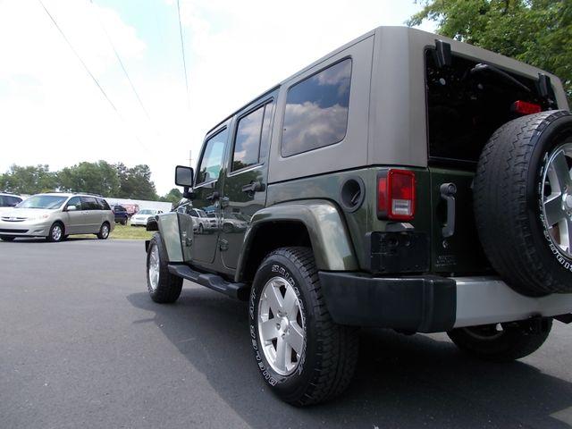 2008 Jeep Wrangler Unlimited Sahara Shelbyville, TN 3