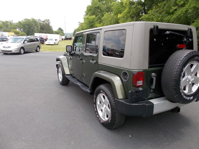 2008 Jeep Wrangler Unlimited Sahara Shelbyville, TN 4