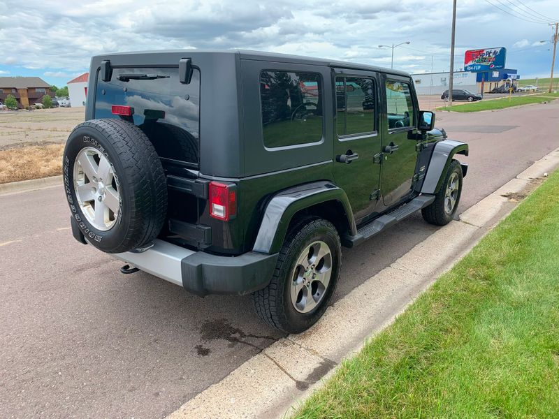 2008 Jeep Wrangler Unlimited 4d Convertible 4WD Sahara  city MT  Bleskin Motor Company   in Great Falls, MT