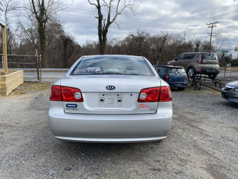 2008 Kia Optima LX  city MD  South County Public Auto Auction  in Harwood, MD