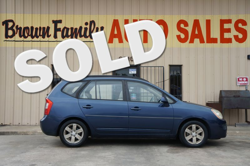 2008 Kia Rondo LX | Houston, TX | Brown Family Auto Sales in Houston TX