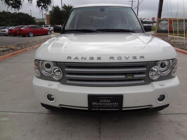 2008 Land Rover Range Rover HSE Austin , Texas 13
