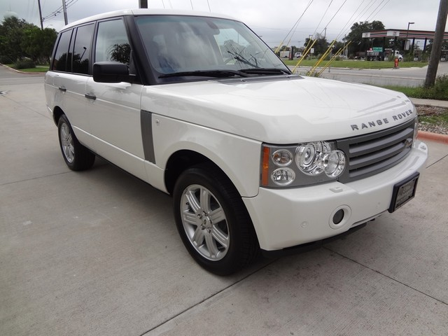 2008 Land Rover Range Rover HSE Austin , Texas 8