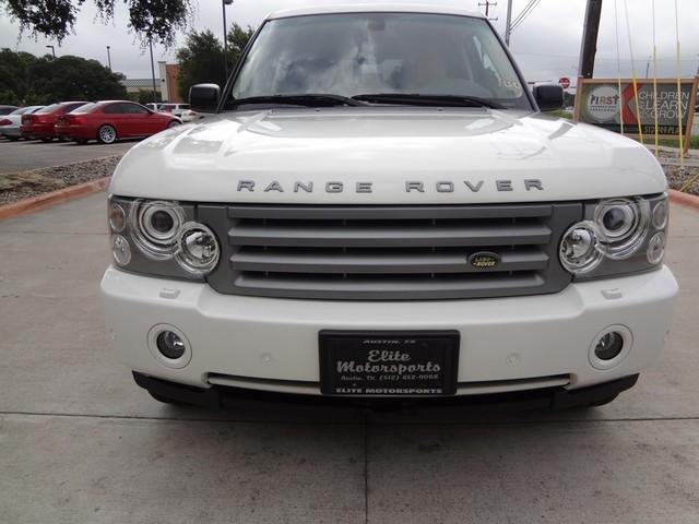 2008 Land Rover Range Rover HSE Austin , Texas 10